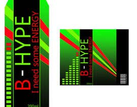 Zingari tarafından Photoshop Design for B-Hype Energy Drink için no 82