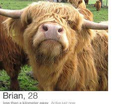 #8 para Create a Tinder Profile for a Cow searching for love de marufqp