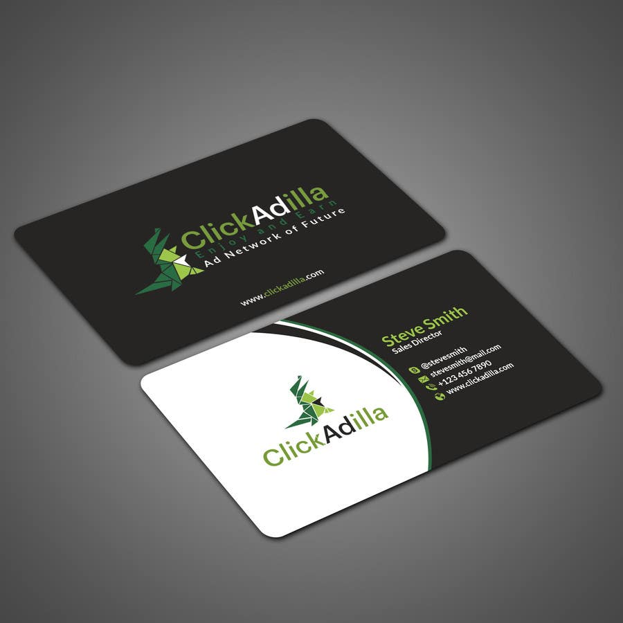 business card design lancer 469 for business card design by papri802030