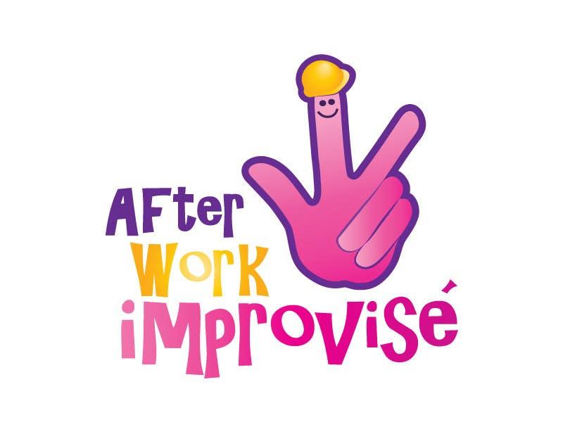 #48 for Logo Design for After Work improvisé by misutase