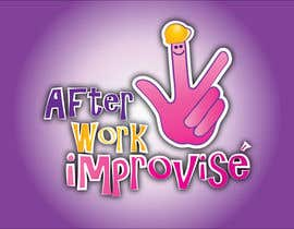 #50 for Logo Design for After Work improvisé af misutase