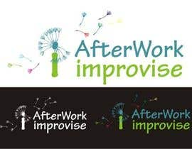 NoraMary tarafından Logo Design for After Work improvisé için no 27