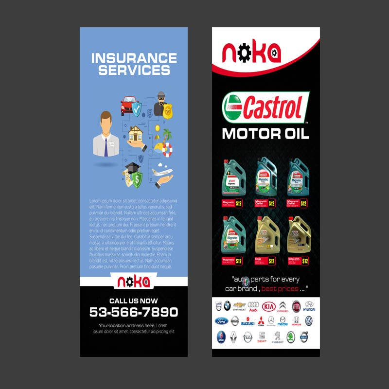 Entry 9 By Jhess31 For Design A Flyer For A Auto Parts Store