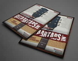 #12 untuk Flyer Design for Gitaartabs.nl an online guitar community with pro vido lesson and songs oleh thuanbui