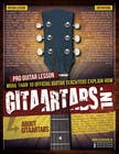 Flyer Design for Gitaartabs.nl an online guitar community with pro vido lesson and songs için Graphic Design19 No.lu Yarışma Girdisi