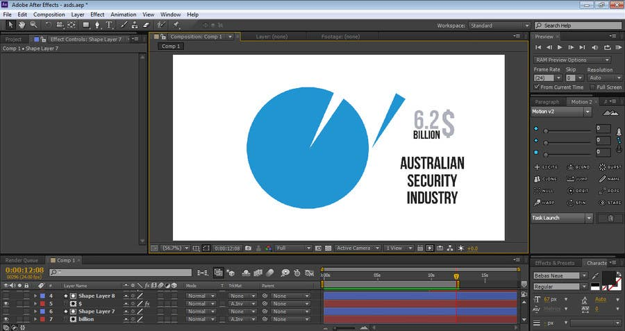 #2 para After Effects video creation - how talented are you? de design4pro