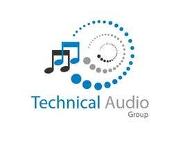 #172 para Logo Design for Technical Audio Group    TAG por tarek433302