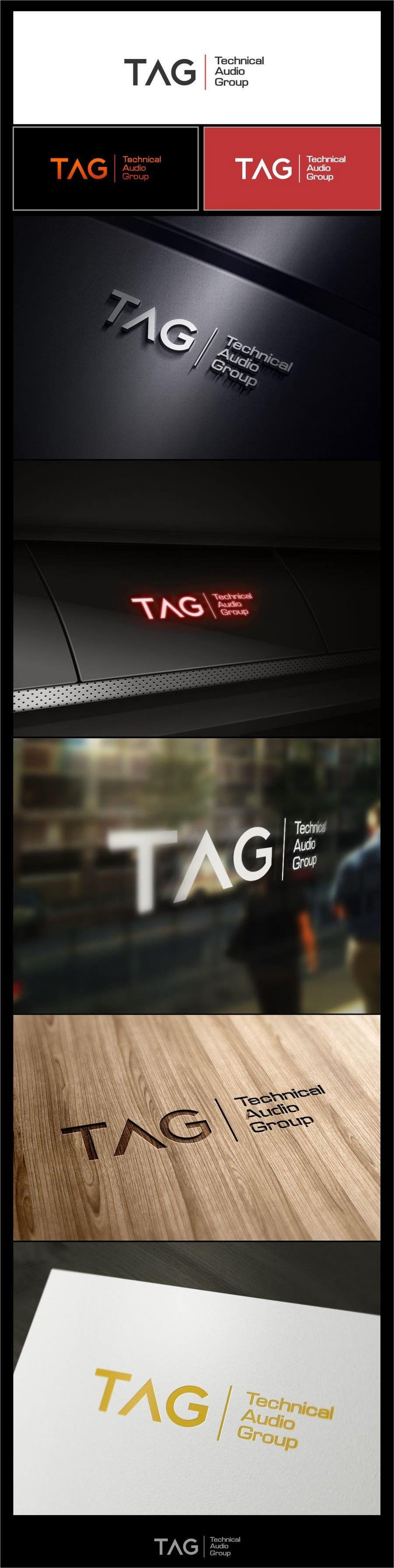 #112 for Logo Design for Technical Audio Group    TAG by timedsgn