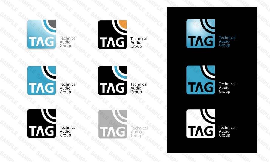 #161 for Logo Design for Technical Audio Group    TAG by Diametrik