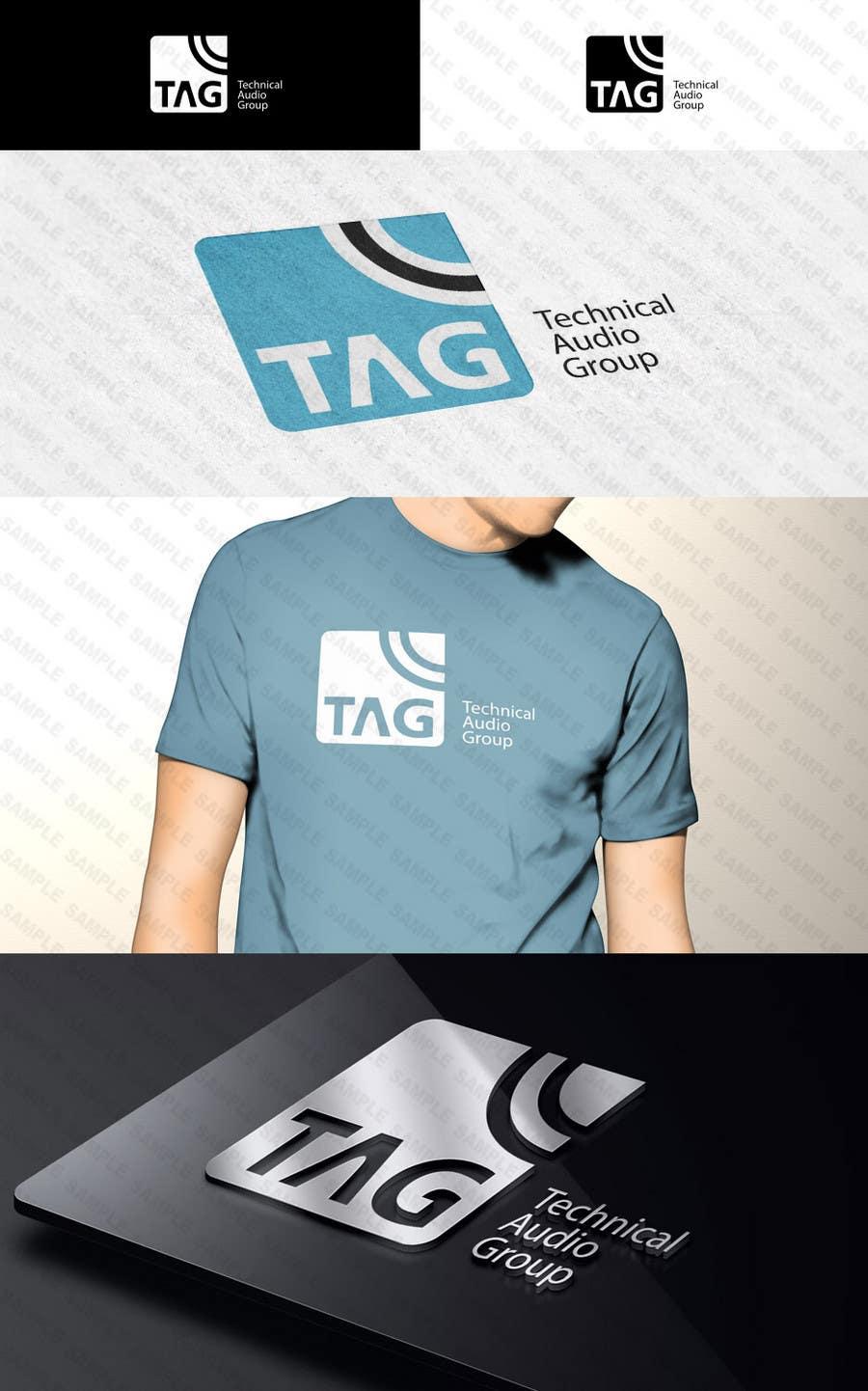 #177 for Logo Design for Technical Audio Group    TAG by Diametrik