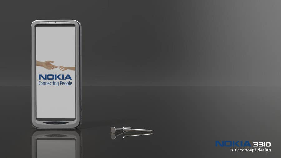 Konkurrenceindlæg #                                        16                                      for                                         Design the Modern Version of the Nokia 3310