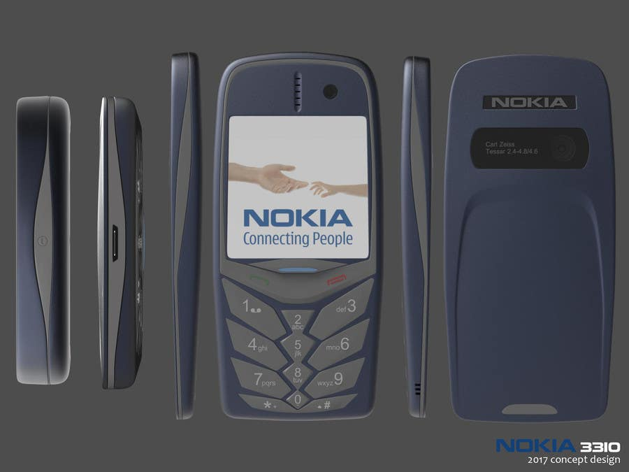 Konkurrenceindlæg #                                        69                                      for                                         Design the Modern Version of the Nokia 3310