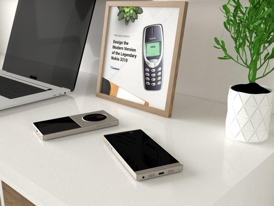 Konkurrenceindlæg #                                        58                                      for                                         Design the Modern Version of the Nokia 3310
