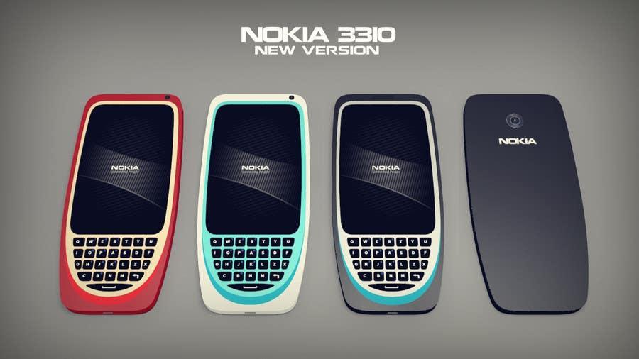 Konkurrenceindlæg #                                        21                                      for                                         Design the Modern Version of the Nokia 3310