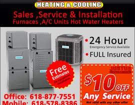 nº 25 pour Design an Advertisement for heating & cooling par LampangITPlus
