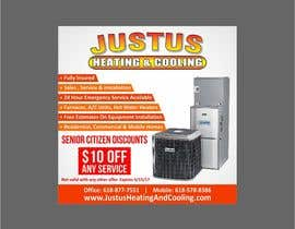 nº 13 pour Design an Advertisement for heating & cooling par Shrey0017
