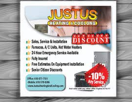 nº 20 pour Design an Advertisement for heating & cooling par imrangd02bar10