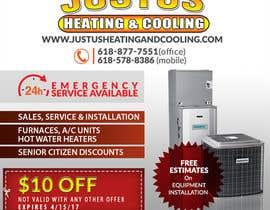 nº 27 pour Design an Advertisement for heating & cooling par rafaislam