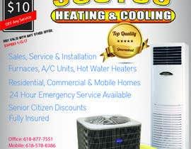 nº 9 pour Design an Advertisement for heating & cooling par mohammedsadam