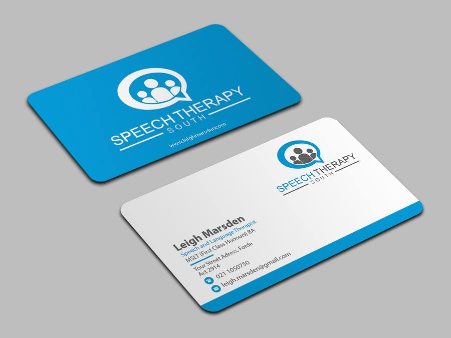 Entry #37 by Jadid91 for Design a business card for a speech ...