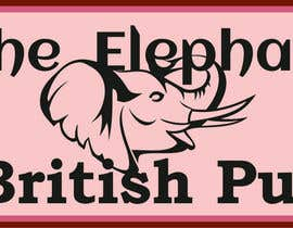 nº 211 pour Logo Design for The Elephant British Pub par simonshy