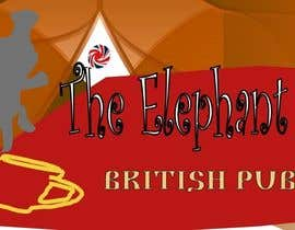#209 untuk Logo Design for The Elephant British Pub oleh lupohunter