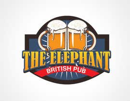 nº 204 pour Logo Design for The Elephant British Pub par shirei