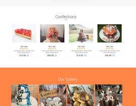 #79 for Design a Website Mockup and corporate identity for cake business af syrwebdevelopmen