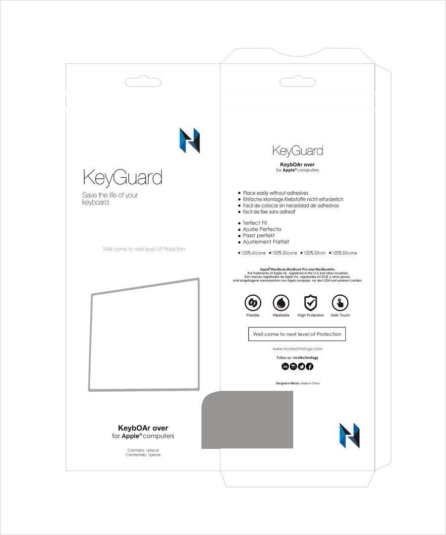 Penyertaan Peraduan #18 untuk Packaging Designs Silicon Keyboard for mac