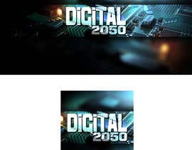 #25 for Design a Logo / Banner for Digital2050 by Kitteehdesign