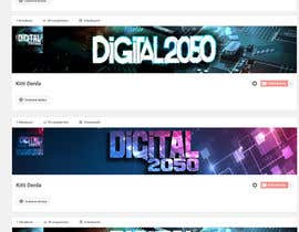 #27 for Design a Logo / Banner for Digital2050 by Kitteehdesign