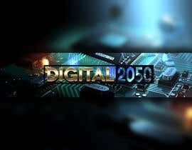 #68 for Design a Logo / Banner for Digital2050 by Kitteehdesign