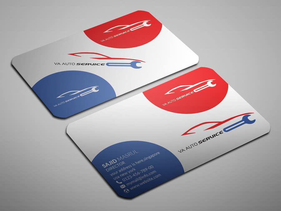 Entry #32 by sahajid000 for Auto Repair Business Logo, Business Card ...