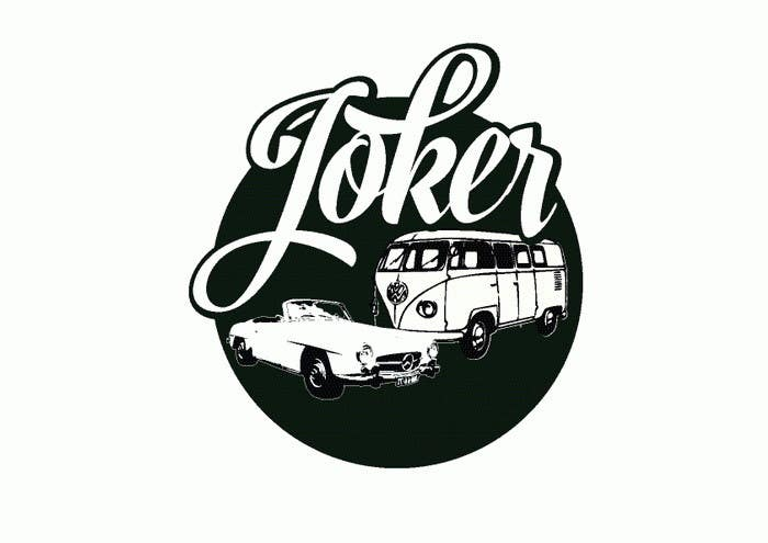 entry 15 by zwook for design a logo joker restoration vector