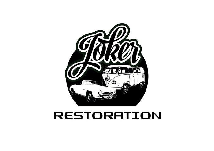entry 19 by zwook for design a logo joker restoration vector