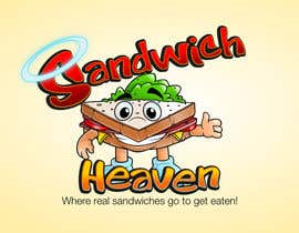 #66 для Logo Design for SandwichHeaven от GreenAndWhite