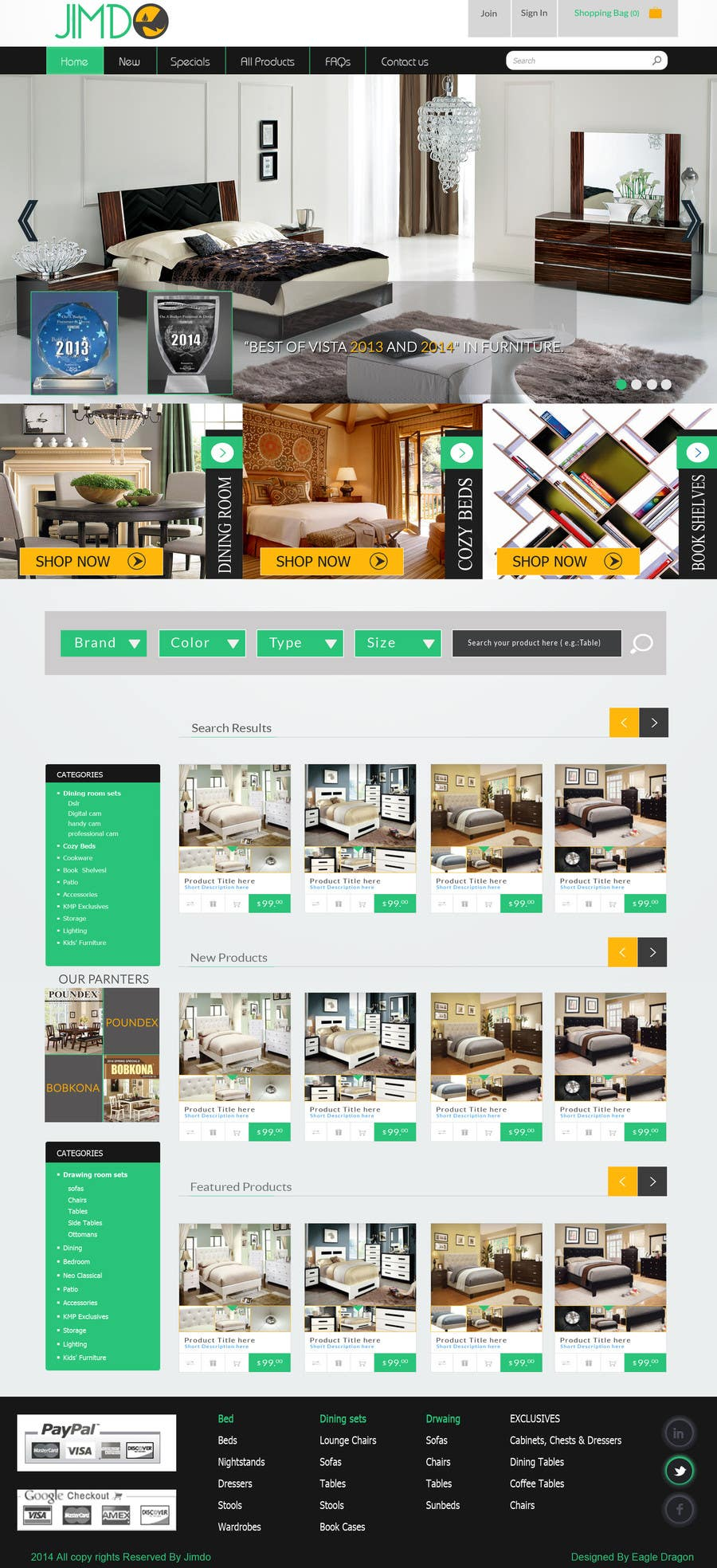 Bài tham dự cuộc thi #                                        3                                      cho                                         Design a Website Mockuup for Jimdo Site