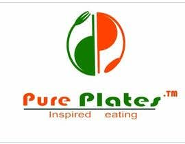 "#336 para Logo Design for ""Pure Plates ... Inspired Eating"" (with trade mark bug) por anjaliom"