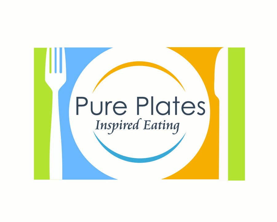 """Proposition n°236 du concours Logo Design for """"Pure Plates ... Inspired Eating"""" (with trade mark bug)"""