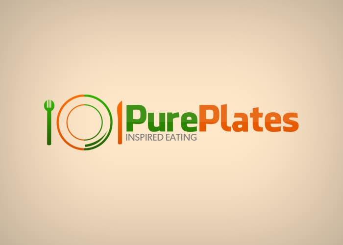 "Konkurrenceindlæg #179 for Logo Design for ""Pure Plates ... Inspired Eating"" (with trade mark bug)"