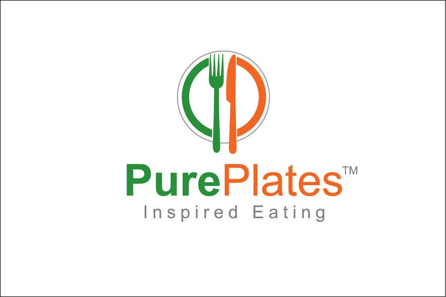 """Proposition n°265 du concours Logo Design for """"Pure Plates ... Inspired Eating"""" (with trade mark bug)"""