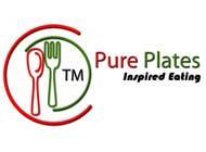 "Logo Design for ""Pure Plates ... Inspired Eating"" (with trade mark bug) için Graphic Design197 No.lu Yarışma Girdisi"