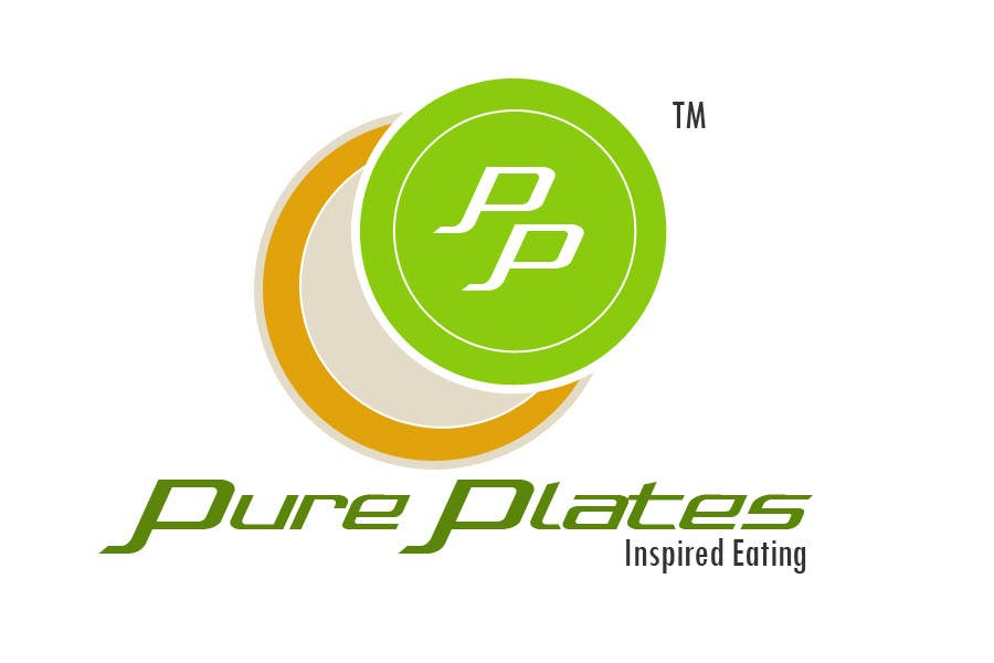 """Proposition n°417 du concours Logo Design for """"Pure Plates ... Inspired Eating"""" (with trade mark bug)"""