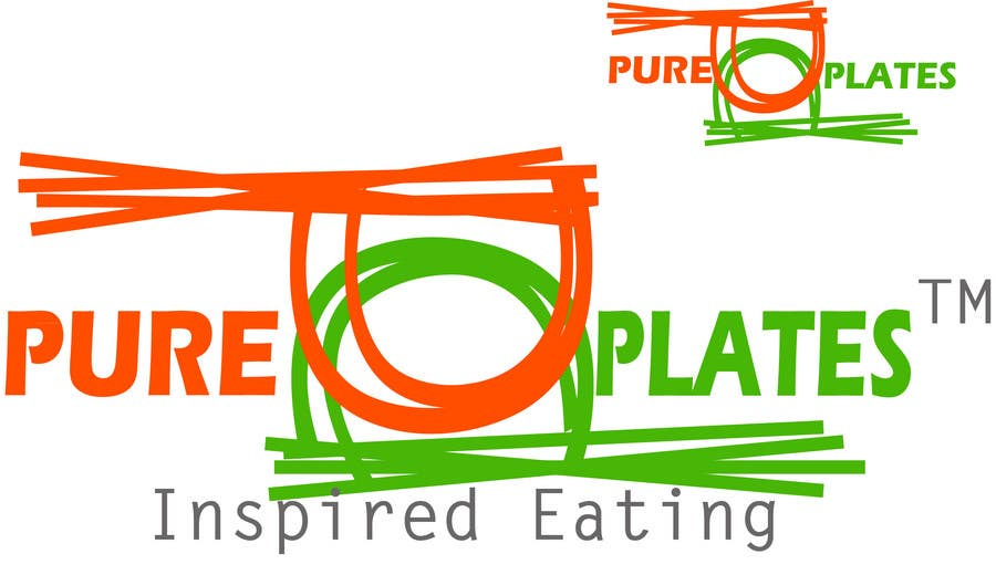 "Inscrição nº 285 do Concurso para Logo Design for ""Pure Plates ... Inspired Eating"" (with trade mark bug)"