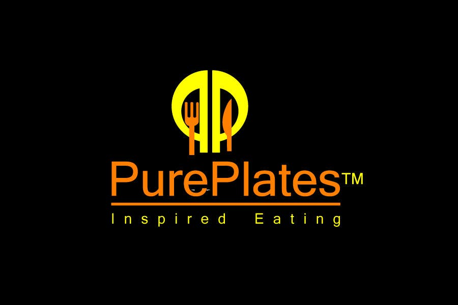 "Proposition n°418 du concours Logo Design for ""Pure Plates ... Inspired Eating"" (with trade mark bug)"