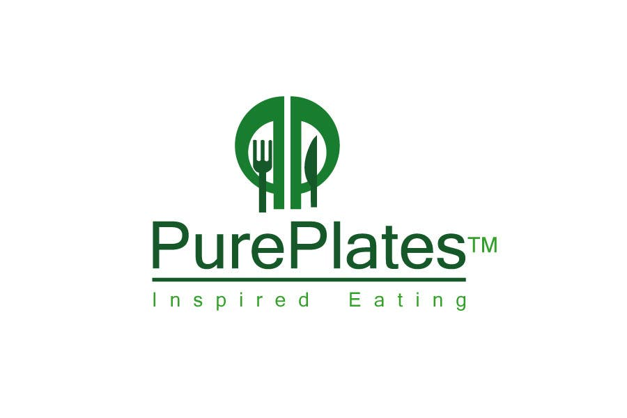 "Konkurrenceindlæg #416 for Logo Design for ""Pure Plates ... Inspired Eating"" (with trade mark bug)"