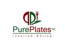 "won7 tarafından Logo Design for ""Pure Plates ... Inspired Eating"" (with trade mark bug) için no 404"