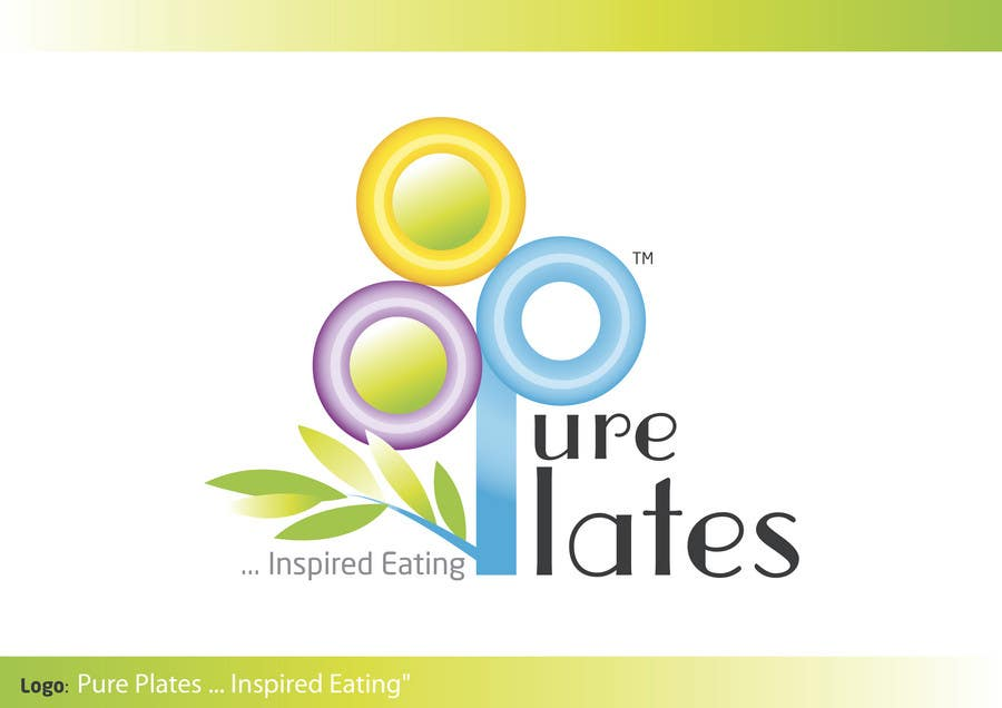 """Proposition n°145 du concours Logo Design for """"Pure Plates ... Inspired Eating"""" (with trade mark bug)"""