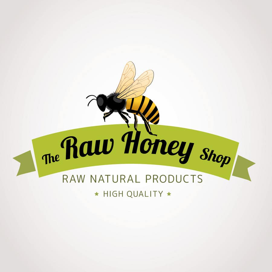 #163 for Logo Design for The Raw Honey Shop by Ollive