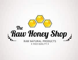 #185 untuk Logo Design for The Raw Honey Shop oleh Ollive
